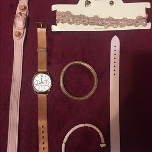Rose Gold Accessory Bundle